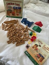 Lincoln Logs Shady Pine Homestead Building Set 00877 - Missing Horse