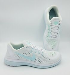 Womenand039s Nike Flex Experience Run 9 Running Shoes White/mint Size 9.5 898476 101