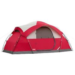 Coleman Cimmaron 8 Person Dome Tent Camping Outdoor Beach Waterproof Easy Setup $152.64