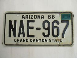 1967 Arizona License Plate Tag Ultimate With 967 In Number