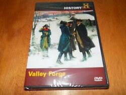 Valley Forge Revolutionary War 1777 George Washington History Channel Dvd New