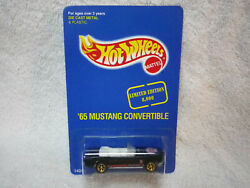 Hot Wheels 1995 Seattle Toy Show 1965 Mustang Convertible Gold Pro Circuit Wheel