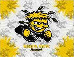 Wichita State Shockers Hbs Gray Wall Canvas Art Picture Print