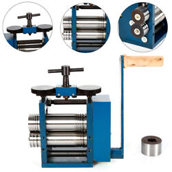 Manual Combination Rolling Mill Machine Jewelry Drawing Wire Roll Press Tool