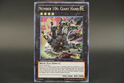 Number 106 Giant Hand Limited Edition 2013 Championship Prize Yugioh Ycsw-en006