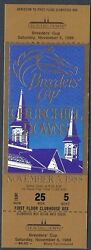 1988 Breeders Cup Horse Racing Admission Ticket -churchill Downs Clubhouse -mint