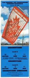 1996 Breeders Cup Horse Racing Admission Ticket - Woodbine Race Course