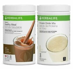 Herbalife Formula 1 Healthy Meal Shake And Protein Drink Mix All Flavors Free Ship