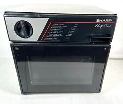 Sharp Half Pint Super Compact Microwave Oven R-4060 Rv/camper Rated -works Great