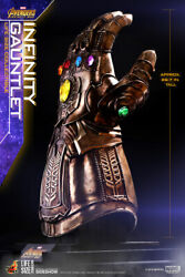 Sideshow Hot Toys Thanos Infinity Gauntlet - Life Size Prop Replica 11 Avengers