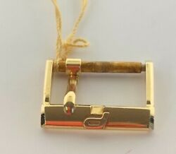 Piaget 18k Gold Watchtang Buckle Vintage Rare Swiss Made Genuine 16mm Mint