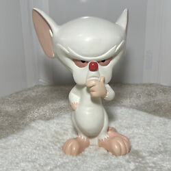 Rare Brain Statue From Pinky And The Brain Cartoon Warner Bros 11 Inches Tall