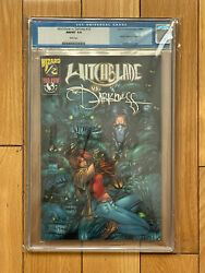 Witchblade Vs The Darkness 1/2 Cgc 9.8 Wizard Credit Card Exclusive