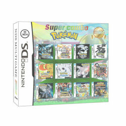 23 in1 Super Combo Pokemon Game Card for Nintendo NDS 2DS 3DS