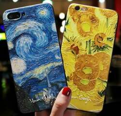 Van Gogh Art Iphone Cases Starry Night Iphone Case Soft Tpu Protective Case