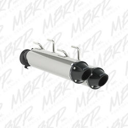 Mbrp Dual Slip On Mufflers For Arctic Cat Wildcat 1000 X 2015-2016 At-9706pt