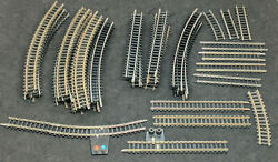 Bachmann / Trix N Gauge N-scale Track Mixed Curves Straight 47 Piece Lot Vintage