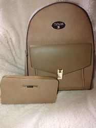 Backpack womens ladies with wallet $48.00