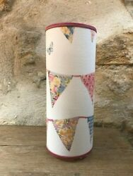 Pretty Lamp Cylinder To Decoration Polka Dot Bunting - Banner Multicolored