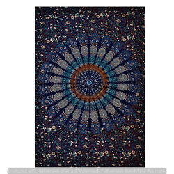 100% Cotton Throw Wall Tapestries Indian Cotton Wall Hangings Mandala Bedcover
