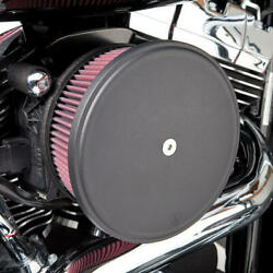Arlen Ness Big Sucker Stage 1 Air Cleaner Kit With Cover Std Filter Black 18-325