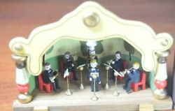 Figurine Wooden Miniature Orchestra Summer Theater Native Box Germany Music Band