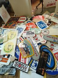 Lot Of Hundreds Of Vintage Permian Basin Oil Field Stickers-real Deal-very Rare