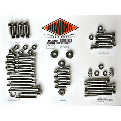Diamond Engineering Bolt Kit For 99-05 Fxd Motor Factory De6513hp