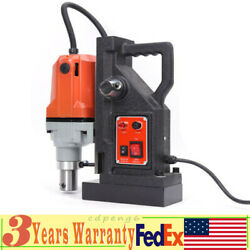 Md40 Magnetic Drill Press 1-1/2 Boring Magnet Force Drilling 12000n 1100w 110v