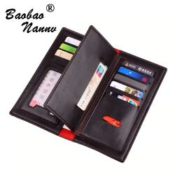 Men#x27;s Wallet Bifold Leather Multi Credit Card Holder Checkbook 5 different style $8.05