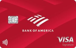 Au Bank Of America Credit Card 8.5 Years 500 Credit Limit- Will Boost Score