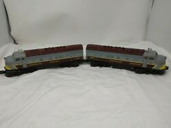 Vintage Lionel 8365 And 8366 Canadian Pacific F3 A/b Set