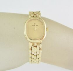 Ladies' Concord 14k Yellow Gold Watch With Gold Tone Dial
