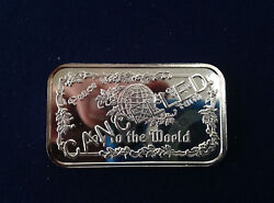 1982 Greathouse Joy To The World Ser Cancelled 16/20 Trg-31c Silver Bar P1864