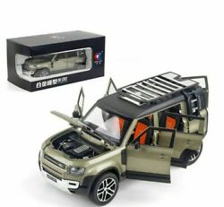 Rover Defender Diecast Alloy Suv 124 Scale Model Toy Souvenir Collectible Gift