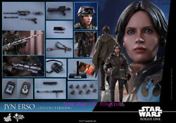 Hot Toys Mms405 – Rogue One A Star Wars Story – 1/6th Jyn Erso Deluxe Version)