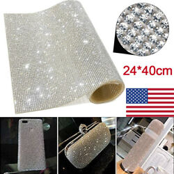 20000pcs/sheet Bling Crystal Self-adhesive Stickers For Diy Car Decoration Us