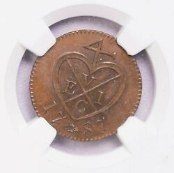 Ngc-ms64bn 1787 Ah1202 Netherland East Indies Keping East India Company S-957