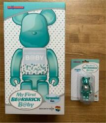 Medicom Toy Plus My First Be@rbrick B@by Designed By Chiaki Turquoise Ver.