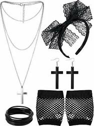 80s Costume Accessories for Women Madonna Party Outfit