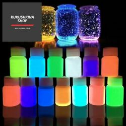 13 Colors Acrylic Paint Glow In The Dark Gold Glowing Paint Luminous Pigment Flu