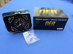 New 1968 Chevelle And El Camino In-dash Clock And Gauge Cluster Oer Parts 6481543