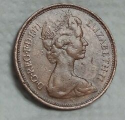 Great Britain 2 New Pence, 1971