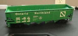 Vintage 1980s Ho Scale Ontario Northland Ont 6031 Green Hopper Car