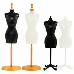 Female Mannequin Torso, 4 Pcs Dress Form Manikin Body With Base Stand For Sewing