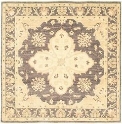 Hand-knotted Carpet 6and0390 X 6and0392 Traditional Vintage Rug...discounted