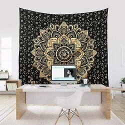 US Mandala Tapestry Wall Hanging Indian Tapestries Psychedelic Poster Home Decor