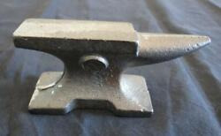 Vintage Miniature Advertising Cast Iron Anvil Paperweight Unknown Makers Marks