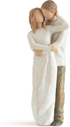 Willow Tree 26032 Together Figurine, Natural, 9 Height