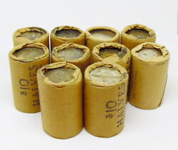 100 Face Value 90 Uncirculated Old Bank Roll Silver Franklin Half Dollar Coins